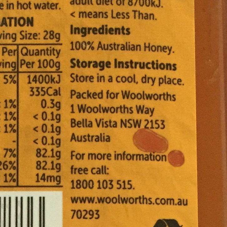 Honey Labelling Guidelines 10 Sweet Tips For Aussie