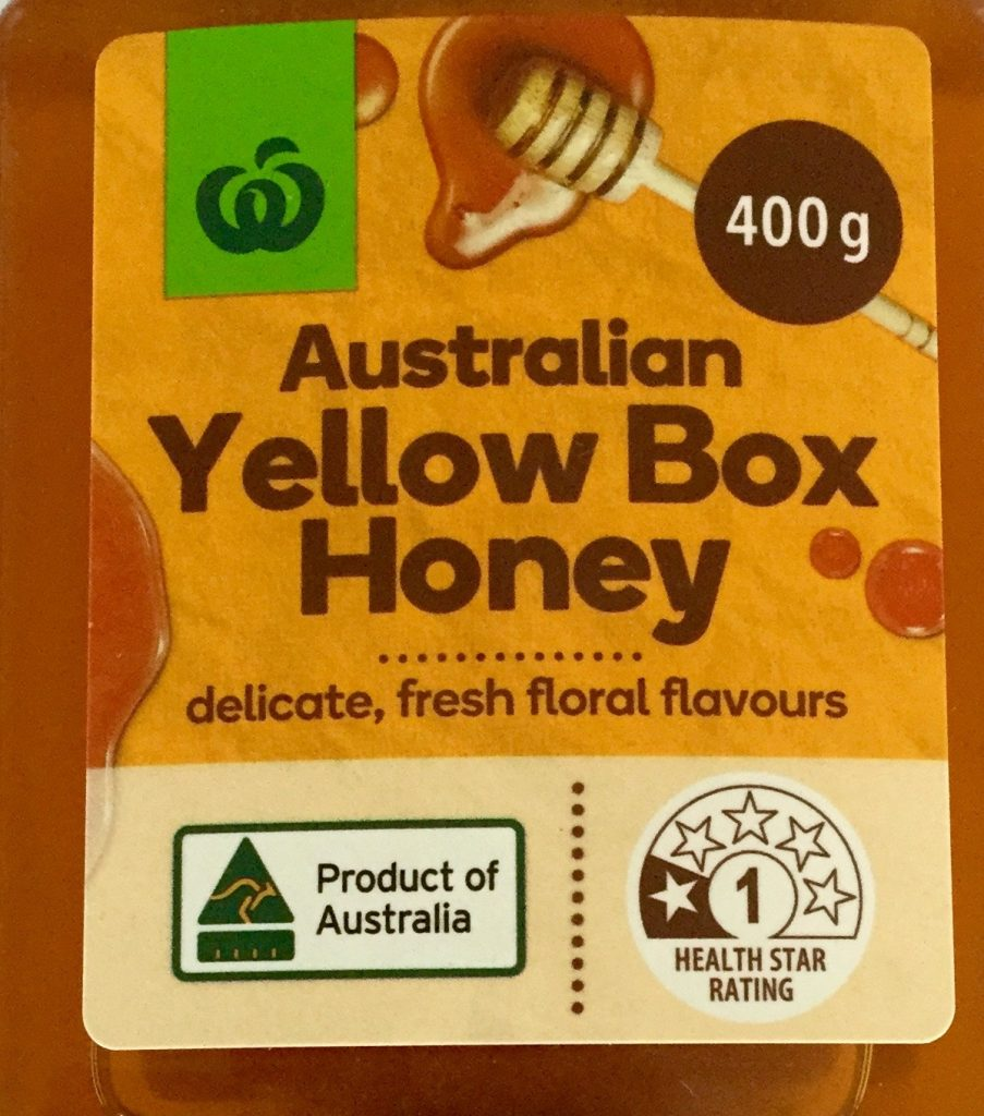 Name of food honey